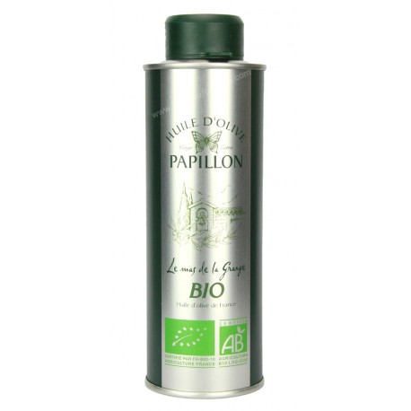 Huile d'olive - Papillon Bio 0.25L