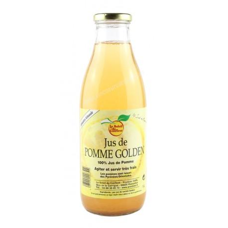 Jus de pommes Golden - Soleil du conflent