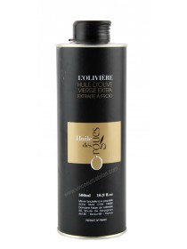 Huile d'olive des Orgues - L'Olivière 0.50L