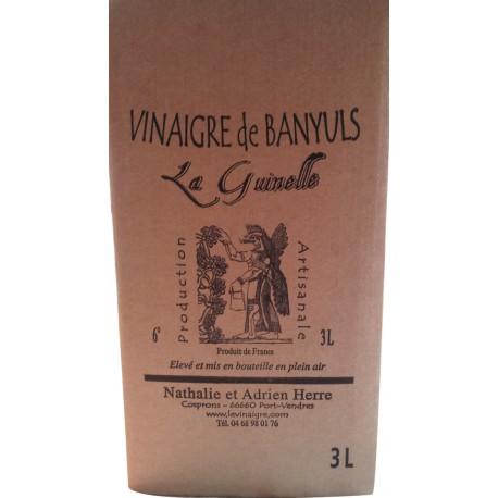La Guinelle - Vinaigre de Banyuls en cubi de 3L