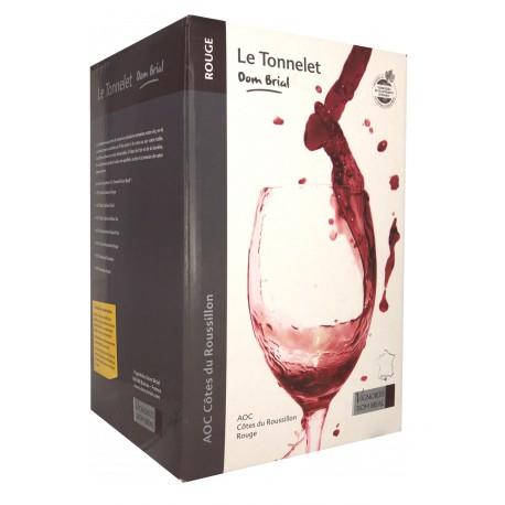 Dom Brial - Le Tonnelet - Fontaine à Vin - Rouge - 3L