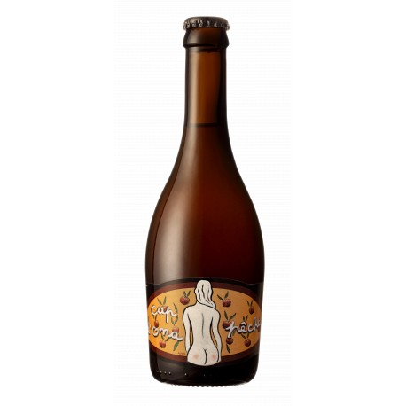 Bière Cap d'Ona - Blanche à la Pêche Bio 0.33L