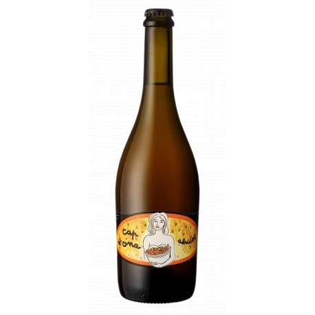 Bière Cap d'Ona - Blonde à l'Abricot Bio 0.75L