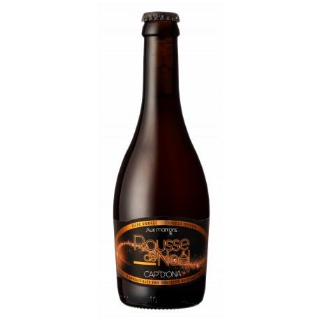 Bière Cap d'Ona - Rousse de Noël aux Marrons 0.33L