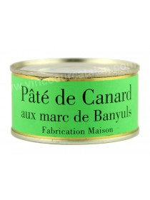 La Ferme du Mont Capell - Pâté de Carnard aux Marc de Banyuls