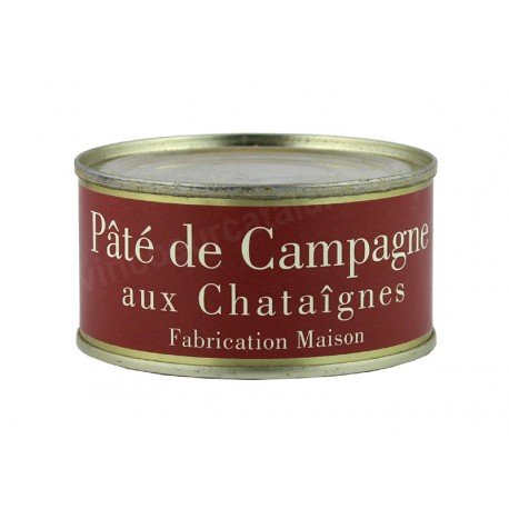La Ferme du Mont Capell - Pâté de Campagne aux Châtaignes