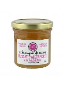 Gelée péché mignon de raisin - Muscat d'Alexandrie à la Rousquille