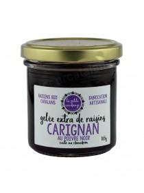 Gelée extra de raisins - Carignan au Poivre Noir