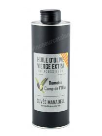 Domaine Camp de l'Oliu - Huile d'Olive Manadell 0.50L