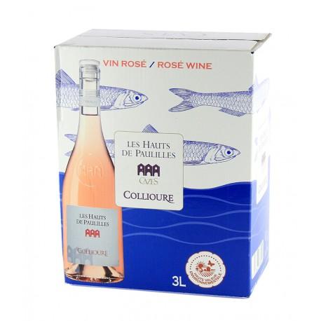 Les Hauts de Paulilles - Collioure - Fontaine à vin - Rosé 3L