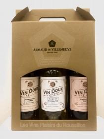 Arnaud de Villeneuve - Tripack Vins Doux Naturels