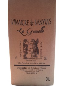 La Guinelle - Vinaigre de Banyuls en cubi de 5L
