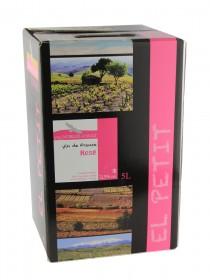 Vignoble d'Agly - El Petit - Fontaine à Vin Rosé - 5L