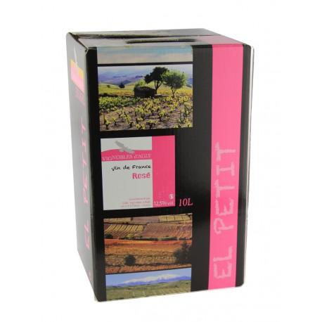 Vignoble d'Agly - El Petit - Fontaine à Vin Rosé - 10L