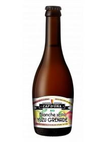 Bière Cap d'Ona - Bière Blanche Neipa Yuzu Grenache Bio 0.33L