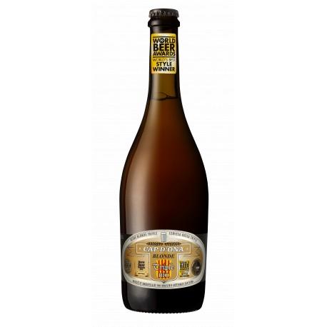 Bière Cap d'Ona - Blonde Triple Bio 0.75L