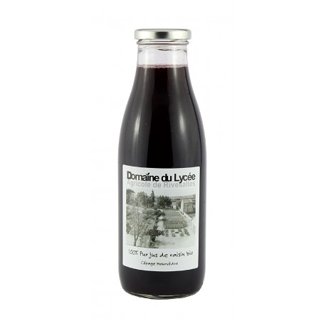 Domaine du Lycée -100% Pur jus de raisin bio