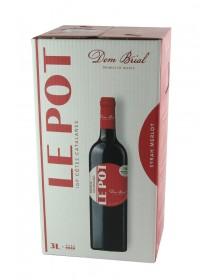 Dom Brial - Le Pot - Fontaine à Vin - Rouge - 3L