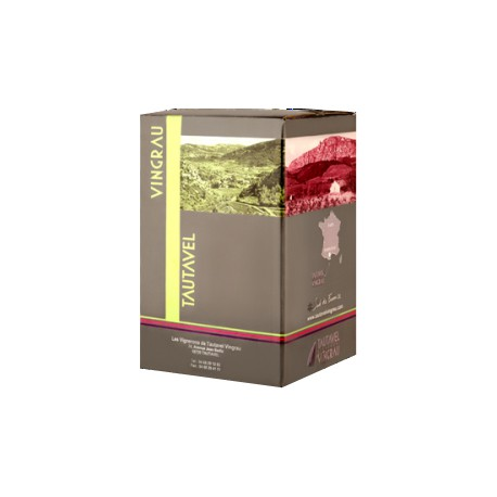 Tautavel - CRV - fontaine à vin rouge 5L