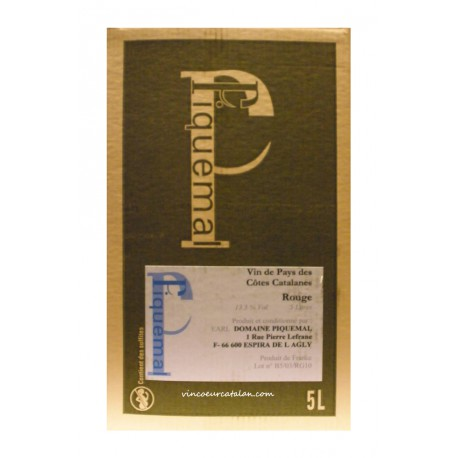 Piquemal - Rouge - 5L